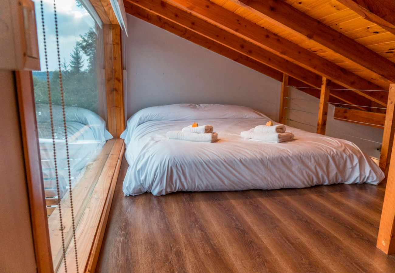 Hermoso dormitorio BOG Atardeceres del Lago 3 Villa La Angostura