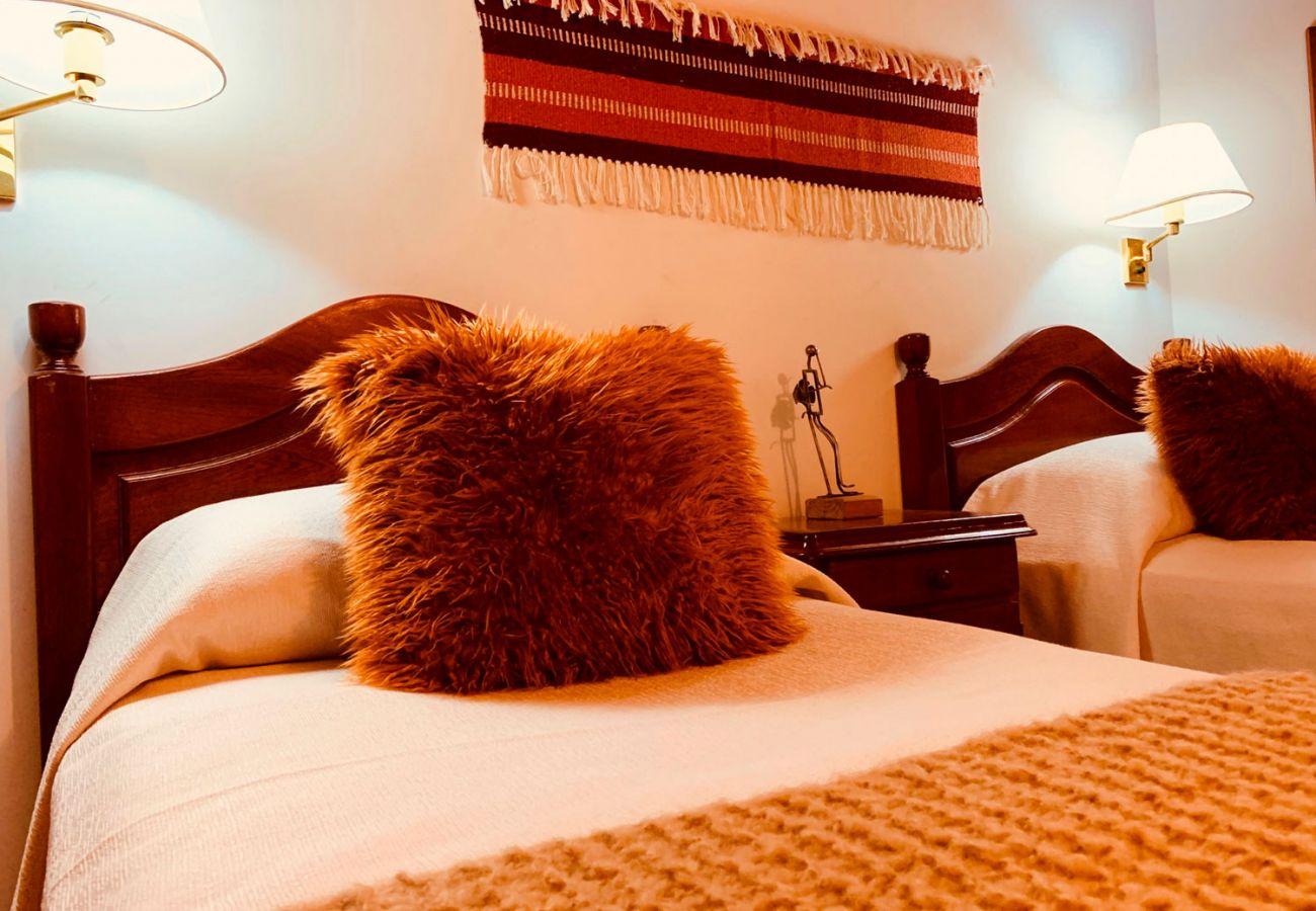 Comodas camas individuales BOG Pichi Ruca Villa La Angostura