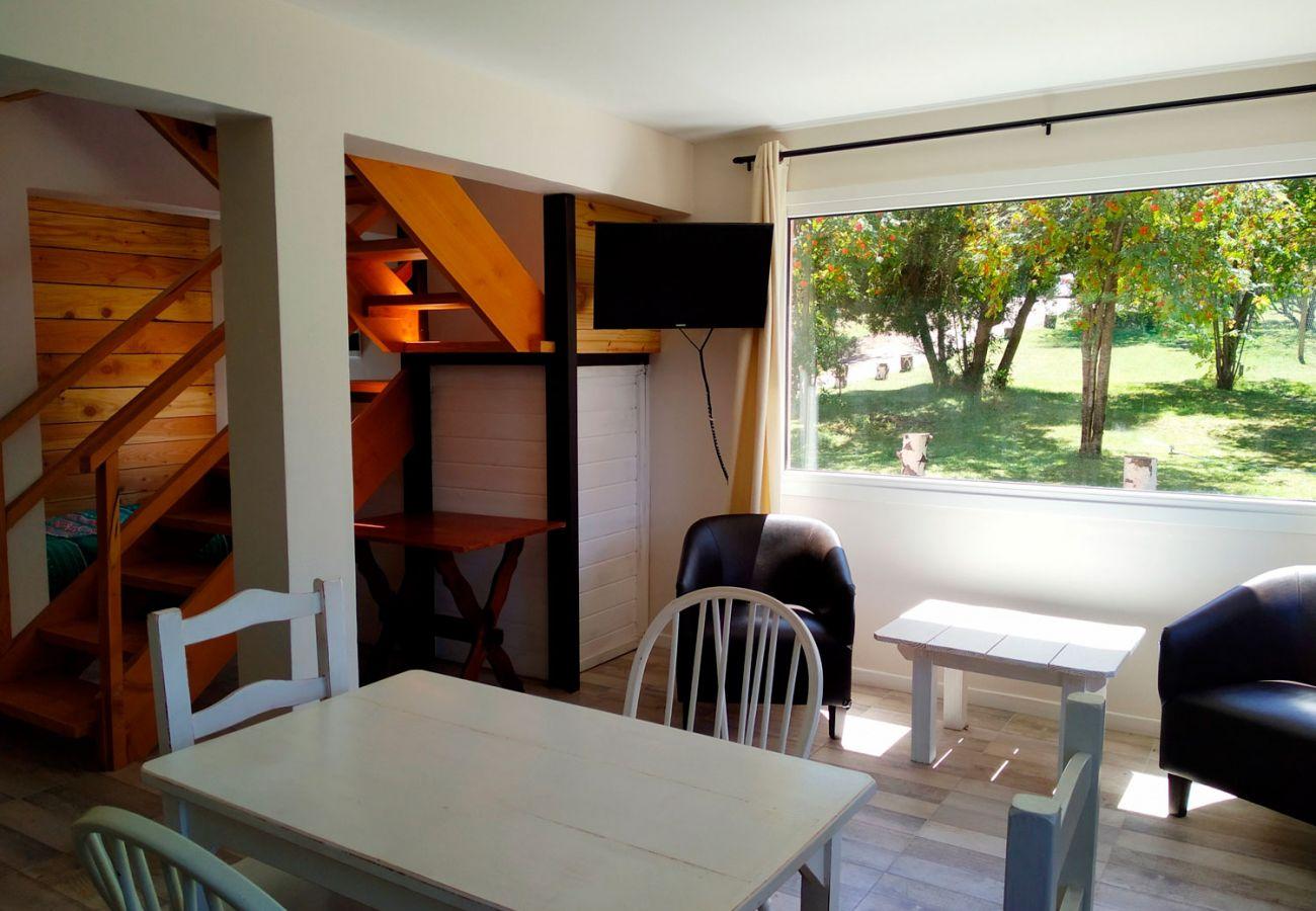 Acogedor living comedor BOG Casa Rosada 2 Villa La Angostura