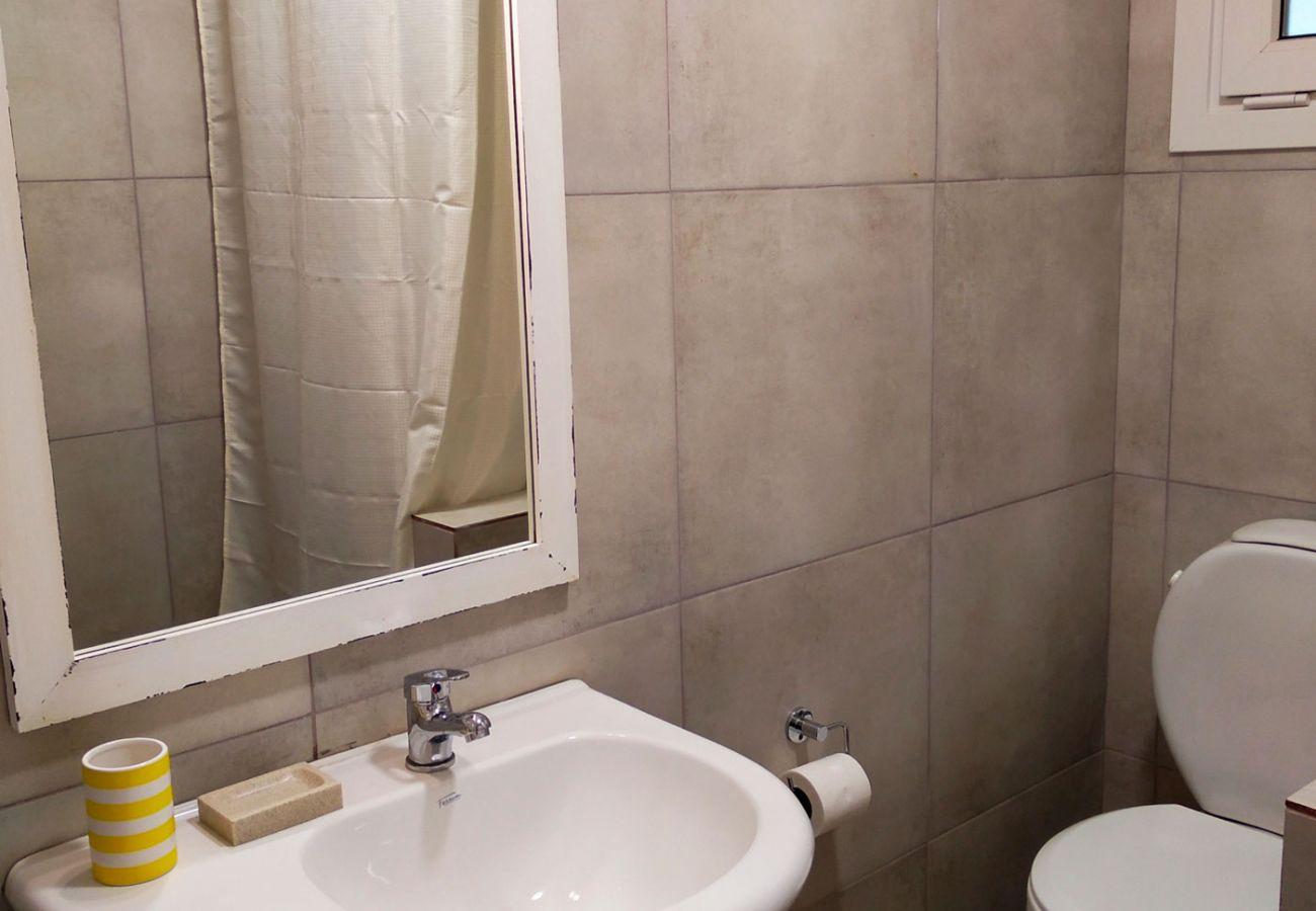Comodo baño BOG Casa Rosada 2 Villa La Angostura