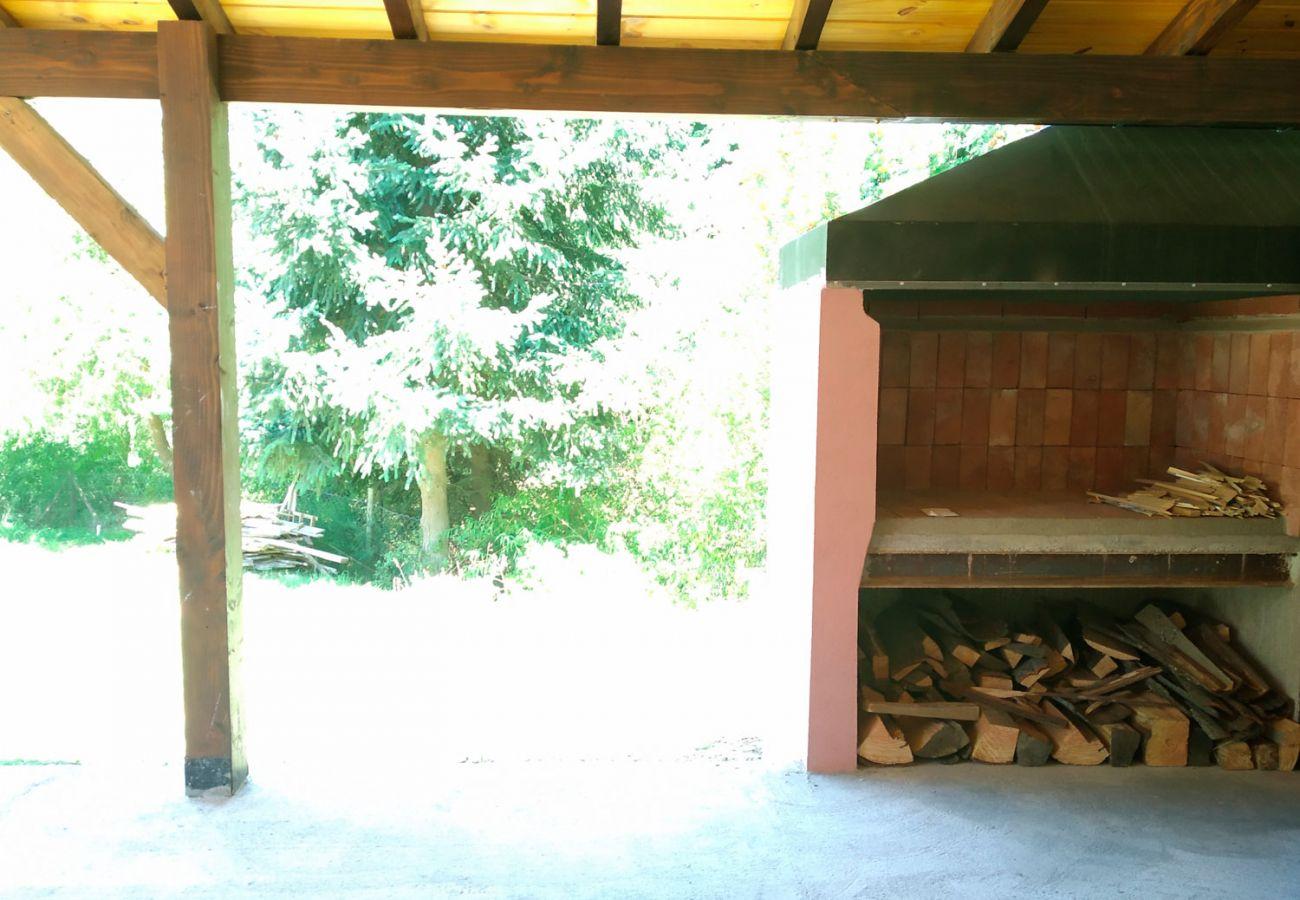 Parrilla techada BOG Casa Rosada 2 Villa La Angostura