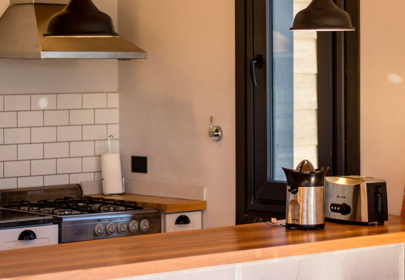 Cocina completa BOG Casa Soñada Villa La Angostura