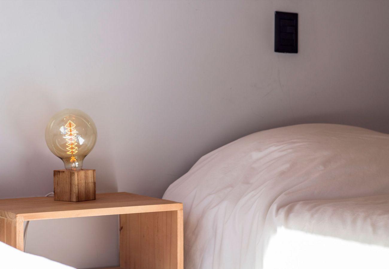 Calido dormitorio BOG Casa Soñada Villa La Angostura