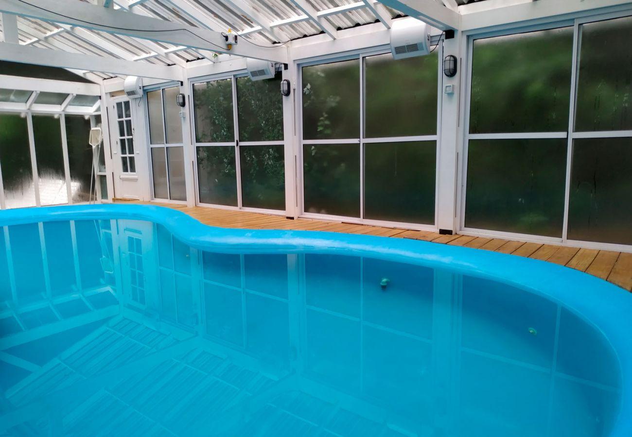 Cabaña con piscina climatizada BOG-Le-Pommier-1-Villa-La-Angostura
