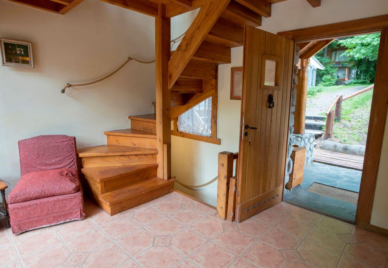 Detalles del interior de la cabaña BOG Le Pommier 1 Villa La Angostura