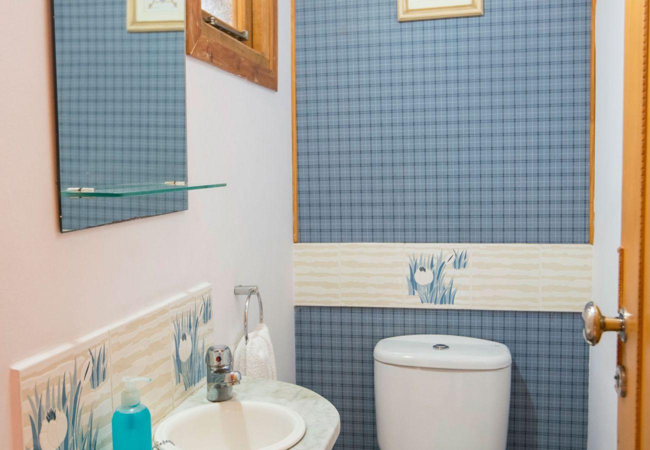 Hermoso baño completo BOG Le Pommier 1 Villa La Angostura