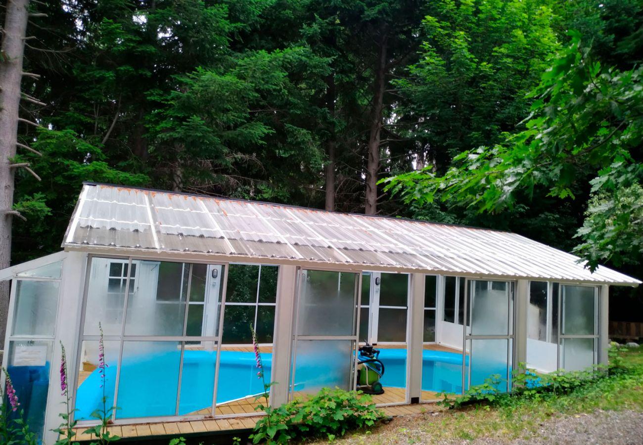 Piscina climatizada BOG Le Pommier 1 Villa La Angostura