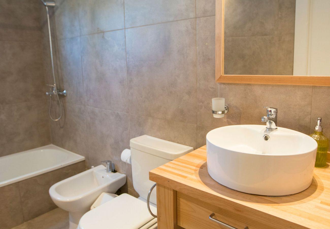 Hermoso baño completo BOG Bosque de Manzano 1 Villa La Angostura