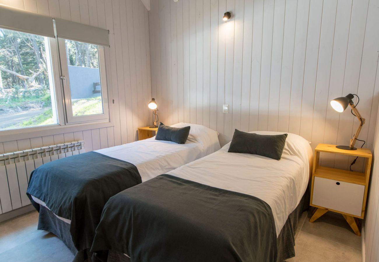 Dormitorio equipado BOG Bosque de Manzano 2 Villa La Angostura