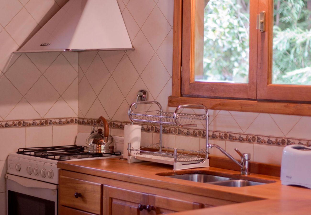 Comoda cocina BOG Patagon Dreams Villa La Angostura