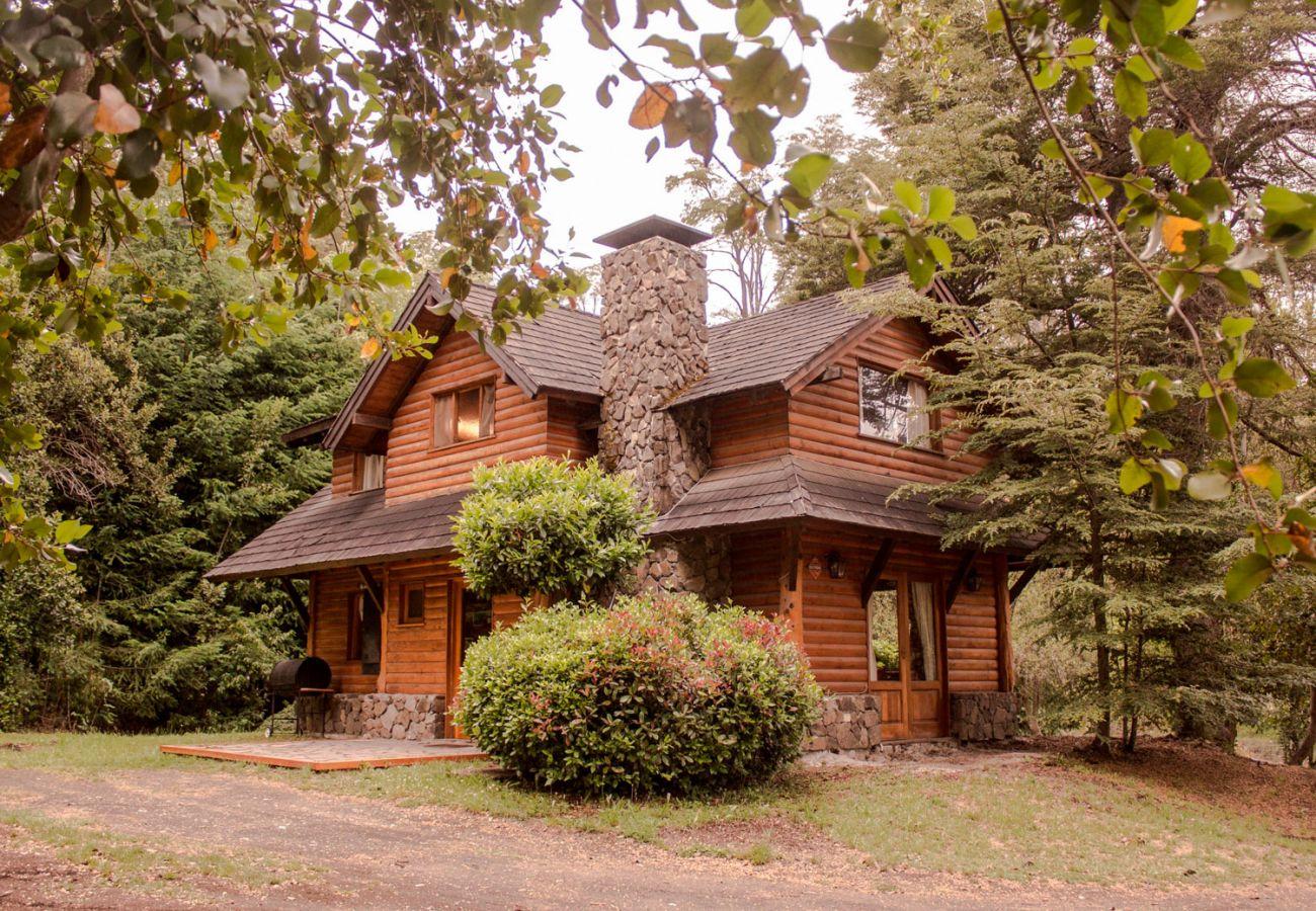 Casa equipada con alarma BOG Patagon Dreams Villa La Angostura